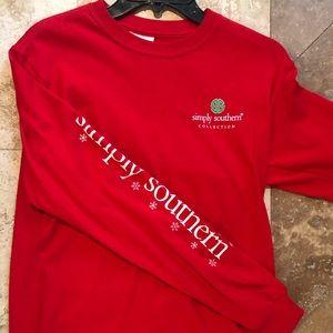 Simply Southern Christmas shirt 🎄🎅🏼